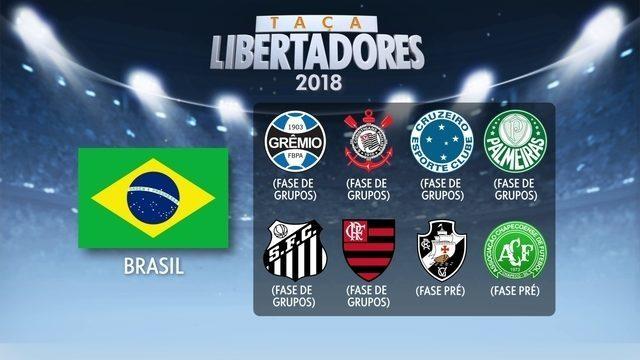 Estatísticas dos clubes brasileiros na Libertadores
