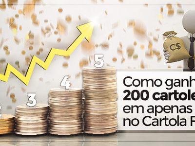 BÍBLIA DAS CARTOLETAS: COMO GANHAR 200 CARTOLETAS EM 5 RODADAS