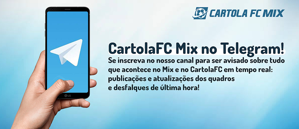 Telegram CartolaFC Mix