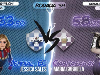 AS DONAS DO CARTOLA #35