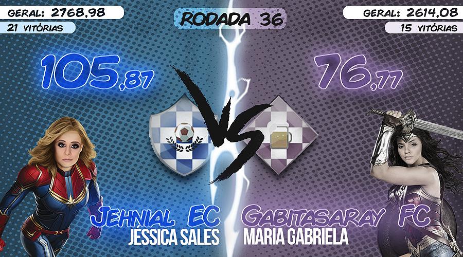 AS DONAS DO CARTOLA #37