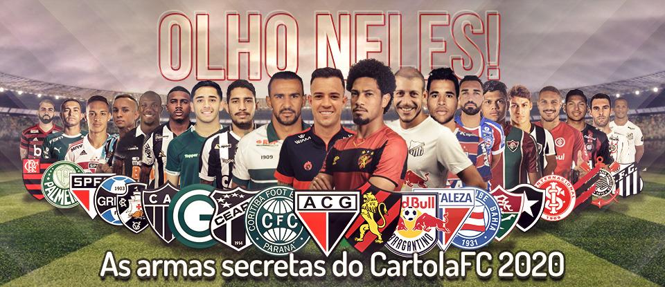 Os melhores jogadores do Brasileirão Série A 2020