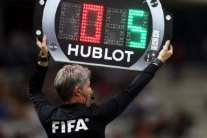 FIFA aprova 5 substituições