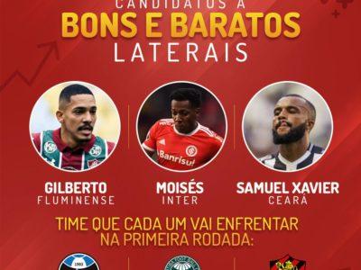 Melhor opção de lateral bom e barato no Cartola FC 2020