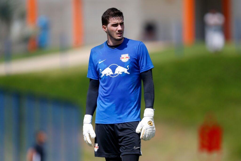 Cleiton, goleiro do RB Bragantino.