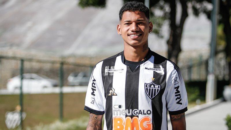 Marrony, atacante do Atlético Mineiro.