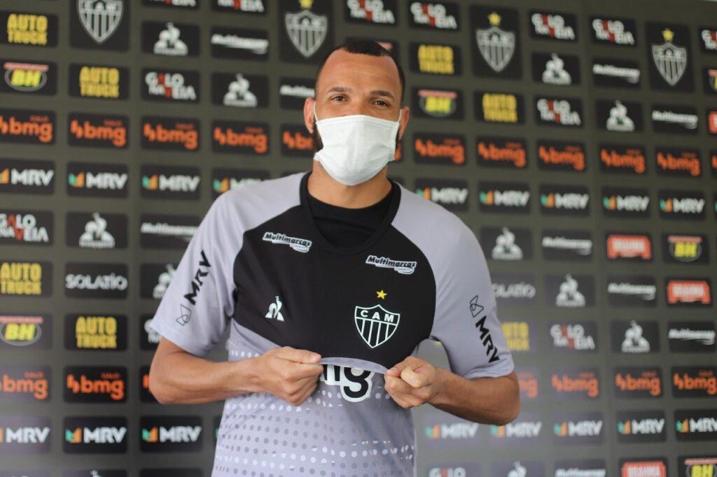 Everson, goleiro do Atlético-MG.