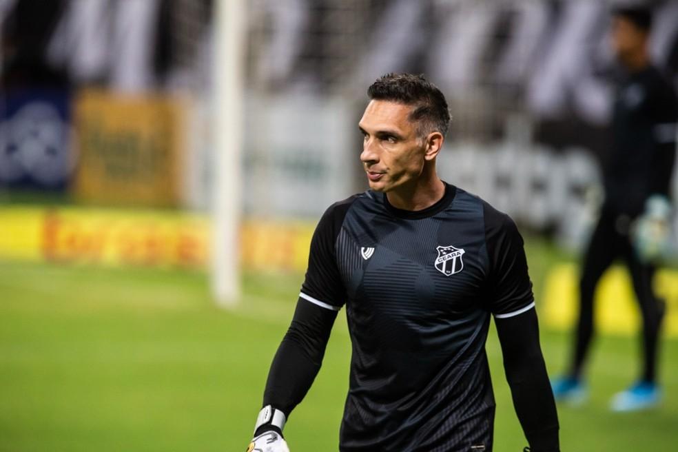 Fernando Prass, goleiro do Ceará.