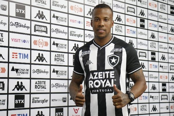 Guilherme Santos, lateral do Botafogo.