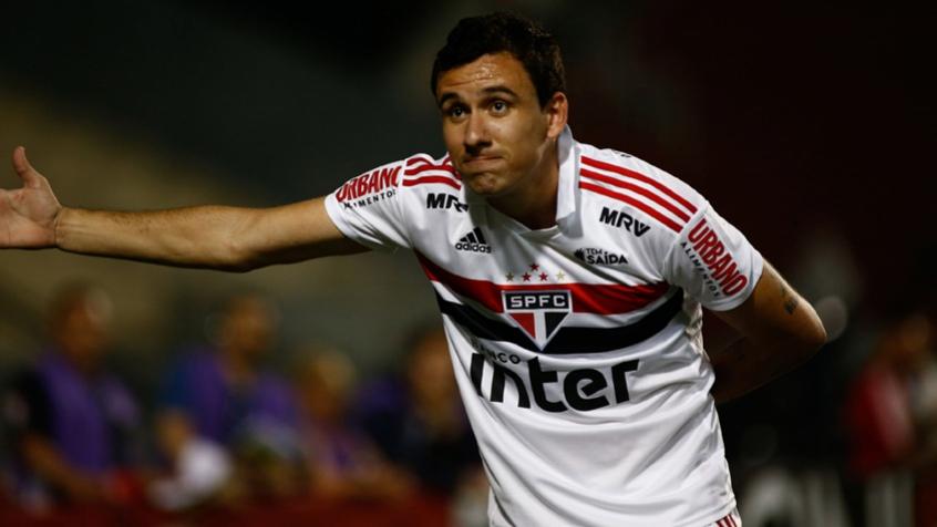 Pablo, atacante do São Paulo.