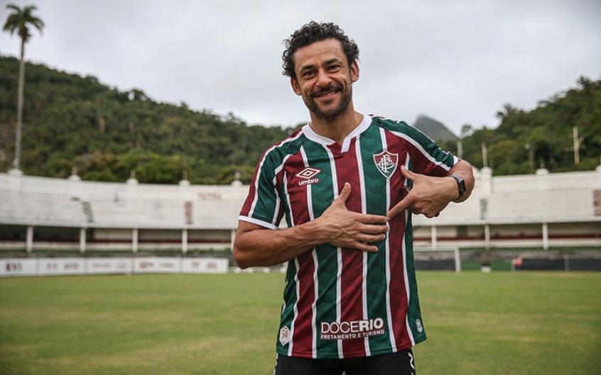 Fred, atacante do Fluminense.
