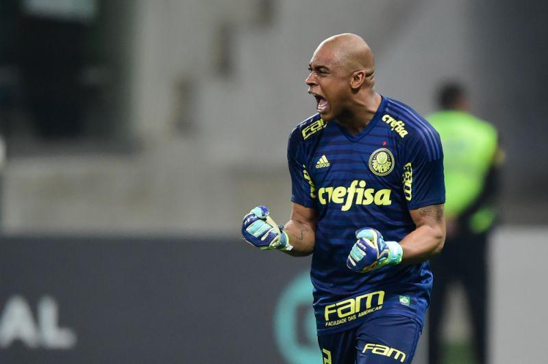 Jailson, goleiro do Palmeiras.