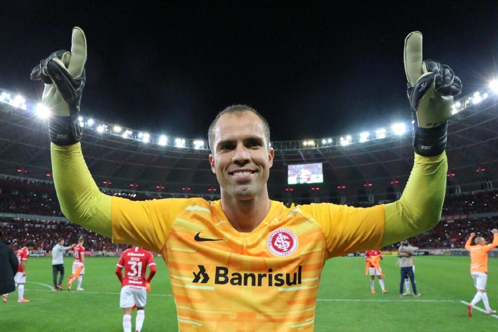 Marcelo Lomba, goleiro do Internacional.