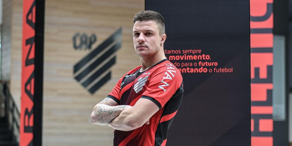Renato Kayzer, atacante do Athlético-PR.