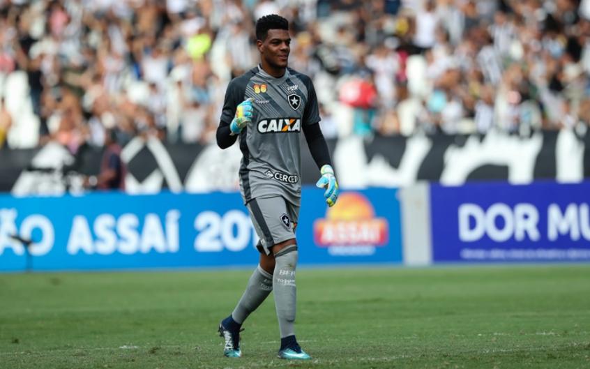 Saulo, goleiro do Botafogo.