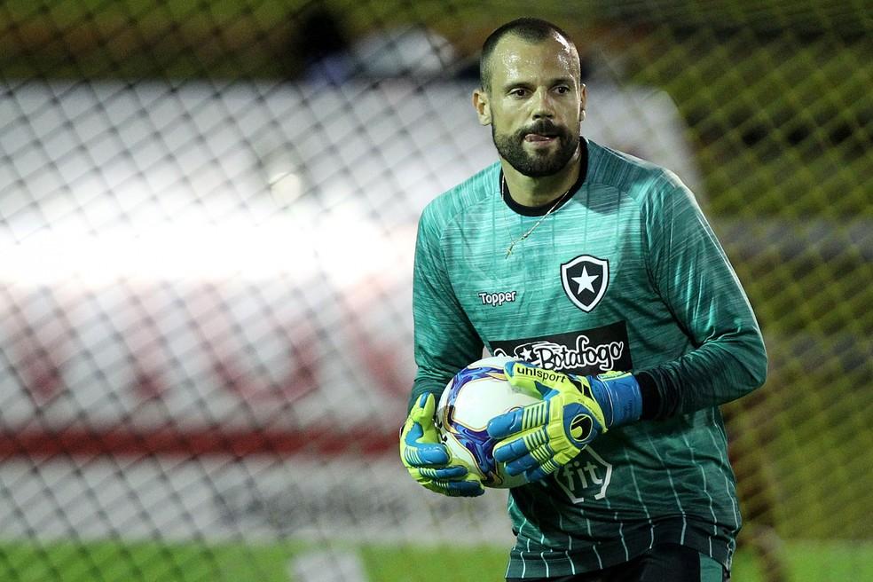Diego Cavalieri, goleiro do Botafogo.