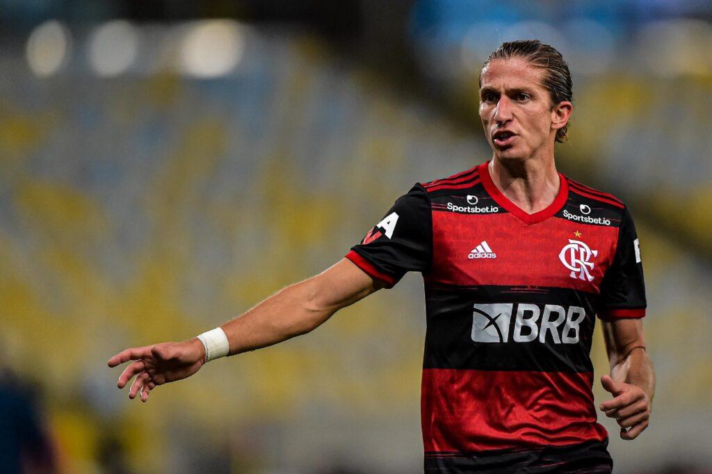 Filipe Luís, lateral do Flamengo.