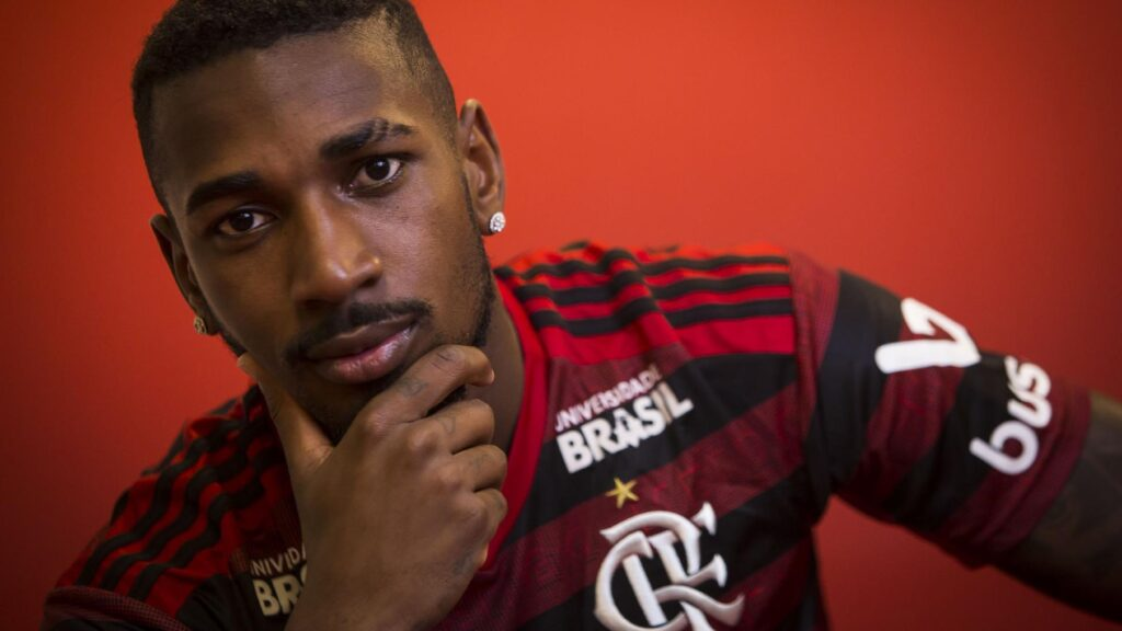 Gerson, meia do Flamengo.