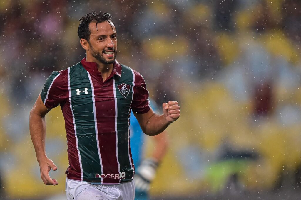 Nenê, meia do Fluminense.