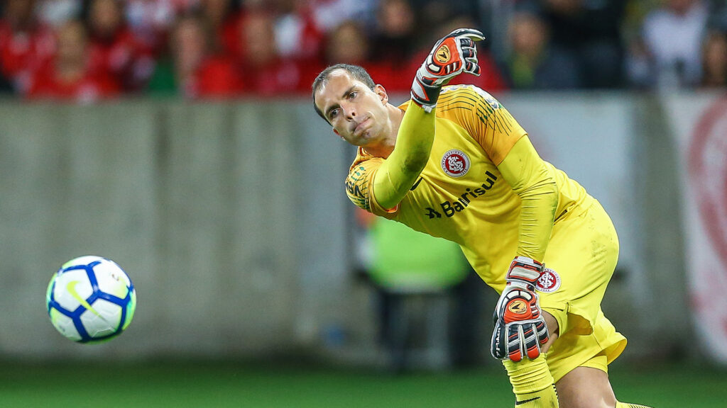 Marcelo Lomba, goleiro do Internacional.