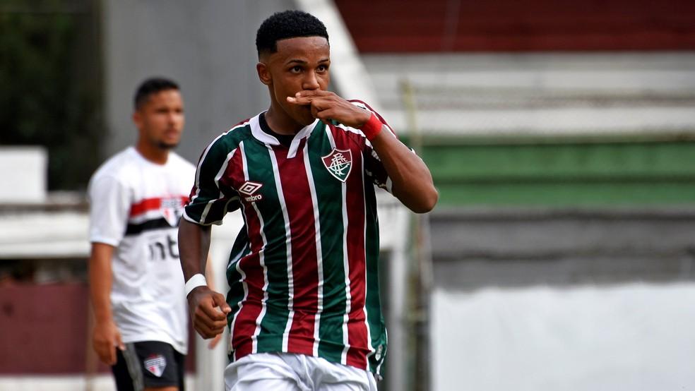 Kayky, atacante do Fluminense.