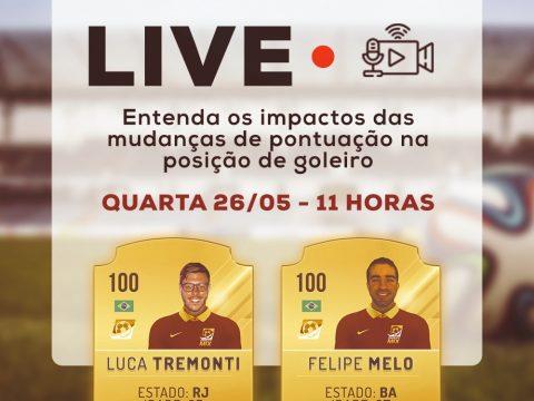 Live: os impactos das mudanças na pontuação do goleiro