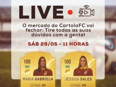 LIVE: O MERCADO DO CARTOLA FC VAI FECHAR! DICAS PARA MITAR NA 1ª RODADA!