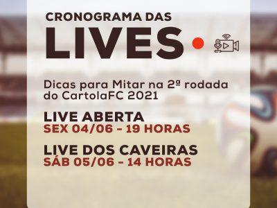 Ao vivo: dicas para mitar na 2ª rodada do Cartola FC 2021