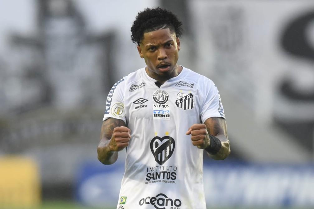 Marinho, atacante do Santos.