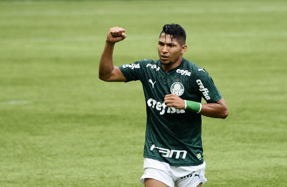 Rony, atacante do Palmeiras.