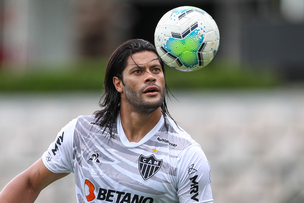 Hulk, atacante do Atlético-MG.