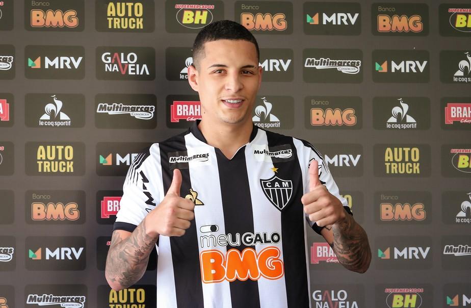 Guilherme Arana, lateral do Atlético-MG.